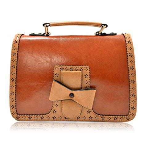 2018 sweet bows and lacework design crossbody bag for women brown in crossbody bags online store. Black Bedroom Furniture Sets. Home Design Ideas