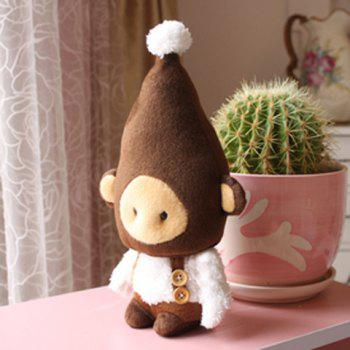 New Arrival Cute Monkey Style Plush Toy with Flexible Joint