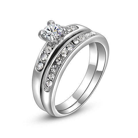 Rhinestone Rings - AS THE PICTURE ONE SIZE