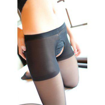 Sexy Style Cut Out Slimming See-Through Women's Pantyhose
