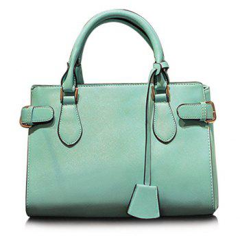 Sweet Pendant and Solid Color Design Tote Bag For Women