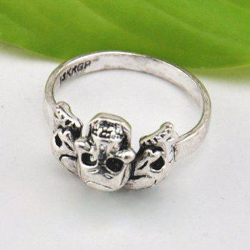 Skull Alloy Ring