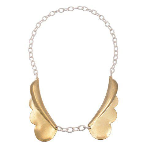 Fantastic Angel's Wings Fake Collar Necklace For Women - GOLDEN