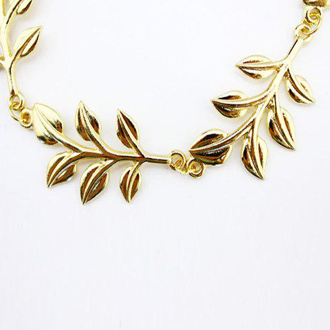 Graceful Leaf Hair Comb For Women