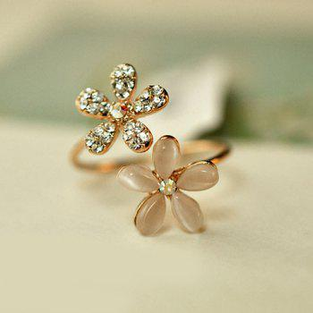 Chic Diamante Flower Ring For Women