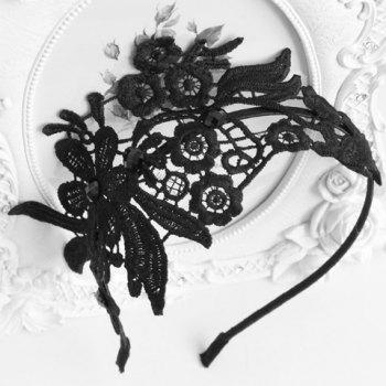 Chic Openwork Lace Flower Pattern Hairband For Women