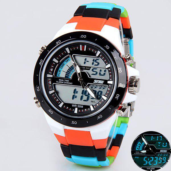 Skmei 1016 Unisex LED Sports Watch Double Time Display ...