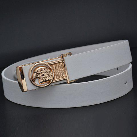 Exquisite Owl Pattern Buckle Simply Designed Waist Belt For Men and Women - COLOR ASSORTED