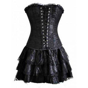 41 off 2020 sexy black lace spandex layered laceup
