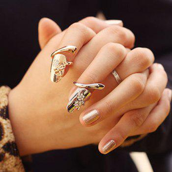 Rhinestone Dragonfly Fingertip Ring (ONE PIECE)
