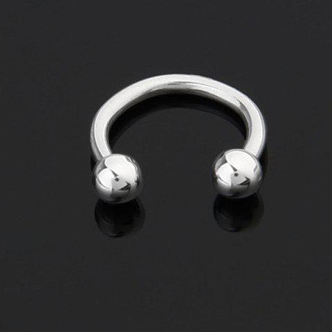Exquisite Simply Designed U-Shaped Labret For Women     (ONE PIECE) - WHITE