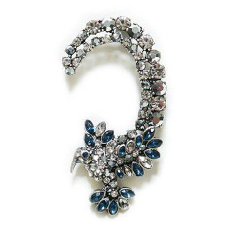 Vintage Diamante Hawk Pattern Ear Cuff For Women - AS THE PICTURE