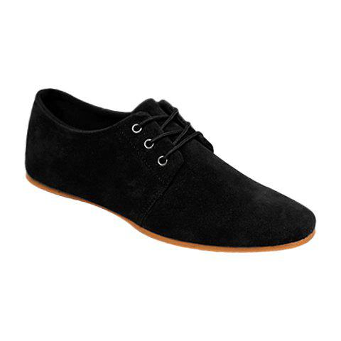 Business Suede and Solid Color Design Formal Shoes For Men