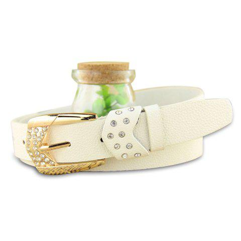 Stylish Chic Rhinestone Inlaid Waist Belt For Women - COLOR ASSORTED
