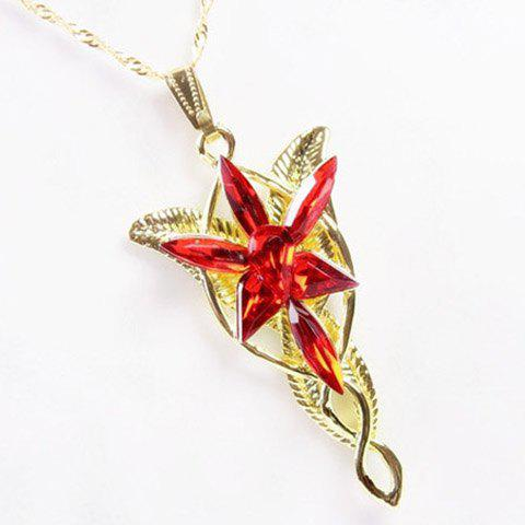 Lord Of The Ring Arwen Evenstar Silver Pendant Necklace - COLOR ASSORTED