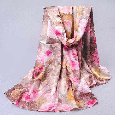 Mixed Duplex Printing Long Scarf For Women - COLOR ASSORTED