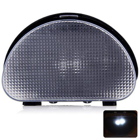Outdoor Camping 2-LED Solar Powered Outdoor Fence Wall Light Tent Lamp -