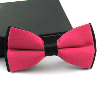 Stylish Casual Color Blocked Bow Tie For Men -  COLOR ASSORTED