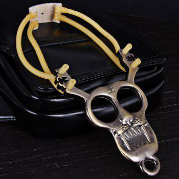 Tiger Pattern Slingshot of Stainless Steel Material Special for Athletics