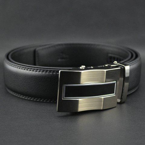 Stylish Chic Wavy Surface Buckle Waist Belt For Men