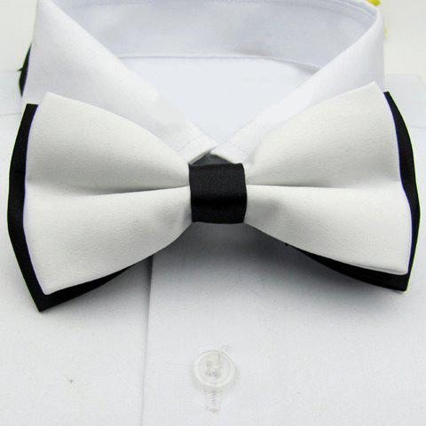 Official Splicing Design Bow Tie For Men