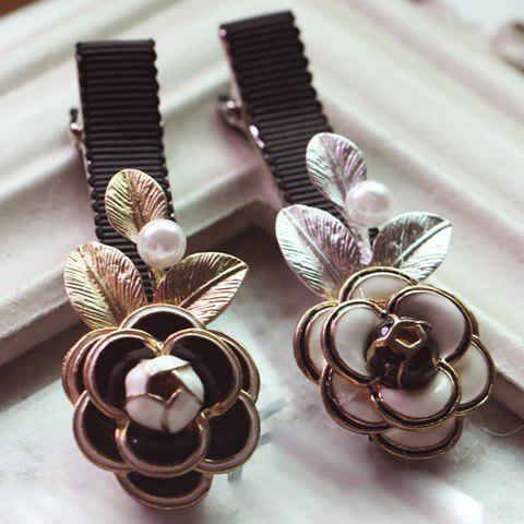Stylish Camellia Pattern Hairpin For Women    (ONE PIECE) - COLOR ASSORTED