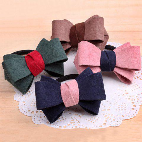 One Piece of Stylish Chic Layered Bowknot Elastic Hair Band For Women