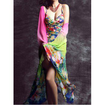 Floral Print Sarong For Women