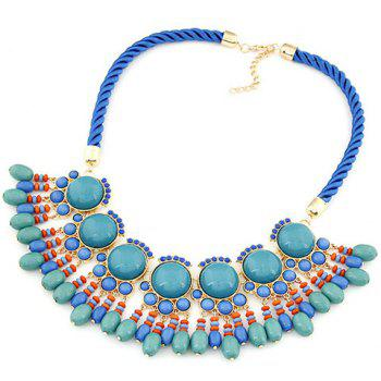 Sweet Fresh Beads Pendant Camber Necklace For Women
