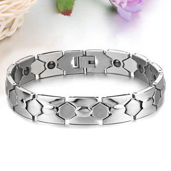 Chic Fashion Pure Color Link Bracelet For Men -  AS THE PICTURE