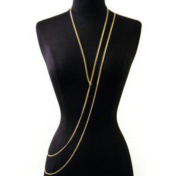 Sexy Special Design Layered Y-Shaped Women's Body Chain