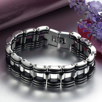 Hollow Out Bicycle Chain Bracelet - AS THE PICTURE AS THE PICTURE