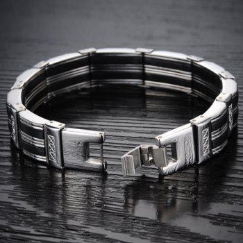 Chic Fashion Pattern Decorated Link Bracelet For Men -  AS THE PICTURE