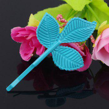 Vintage Metal Leaf Pattern Hairpin For Women    (ONE PIECE) -  COLOR ASSORTED