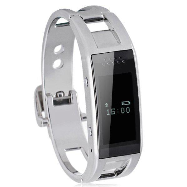 Y10 Smart Bracelet Watch for Health Management Switch Machine and Bluetooth Pairing - SILVER