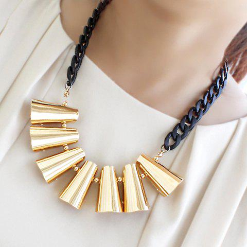 Simple Design Exaggerated Alloy Necklace For Women