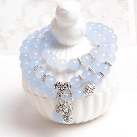 Delicate Multi-Layered Beading Bracelet For Women - AS THE PICTURE