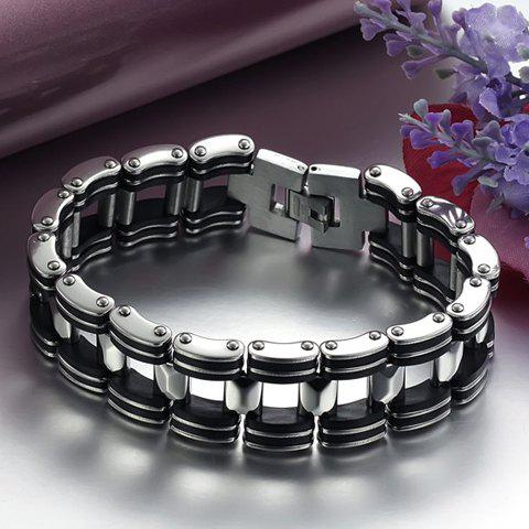 Hollow Out Bicycle Chain Bracelet - AS THE PICTURE