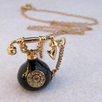 Telephone Pendant Sweater Chain