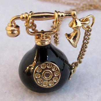 Telephone Pendant Sweater Chain - COLORMIX