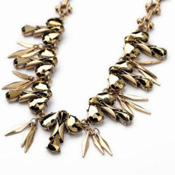 Trendy Solid Color Women's Necklace - AS THE PICTURE