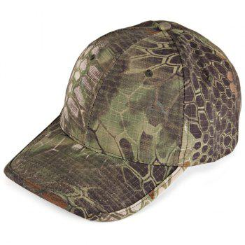 Anaconda Pattern Peaked Cap Outdoor Anti-UV Hat Camouflage Visors Baseball Cap - DIGITAL JUNGLE CAMOU DIGITAL JUNGLE CAMOU