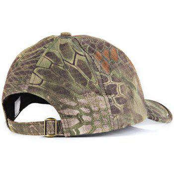 Anaconda Pattern Peaked Cap Outdoor Anti-UV Hat Camouflage Visors Baseball Cap -  DIGITAL JUNGLE CAMOU