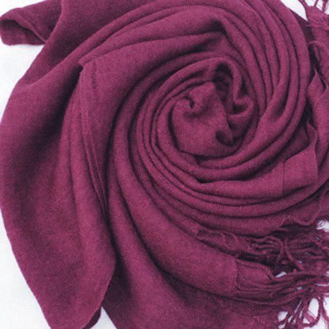 Simple Tassels Scarf For Women - COLOR ASSORTED