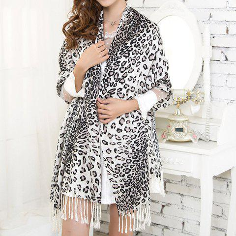 Hot Sale Leopard Pattern Pashmina For Women - COLOR ASSORTED