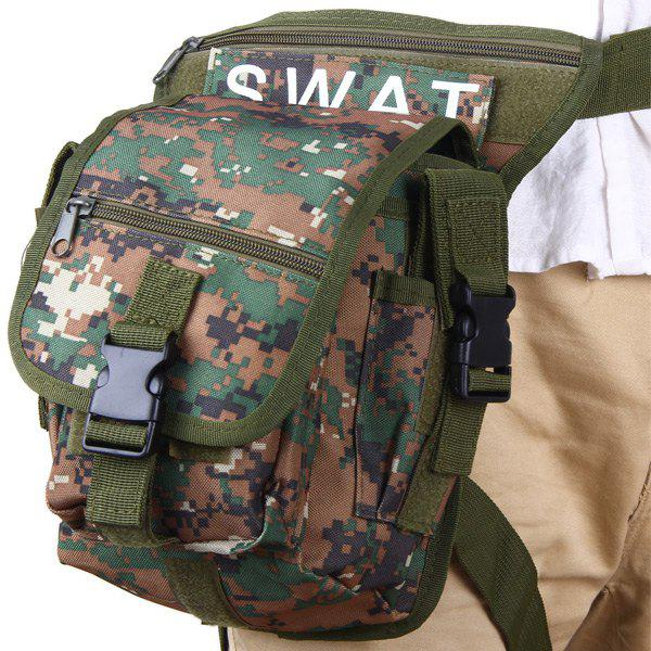 Durable Multi-Layered Nylon Leg and Waist Pouch Carrier Bag for Outdoor Activity