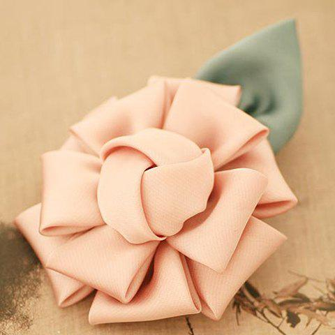 Cute Solid Color Flower Shape Hairpin For Women - COLOR ASSORTED
