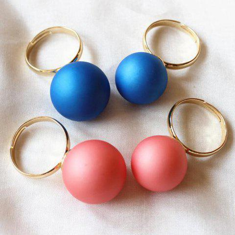Sweet Candy Color Ring  For Women (16MM)( ONE PIECE - COLOR ASSORTED ONE-SIZE