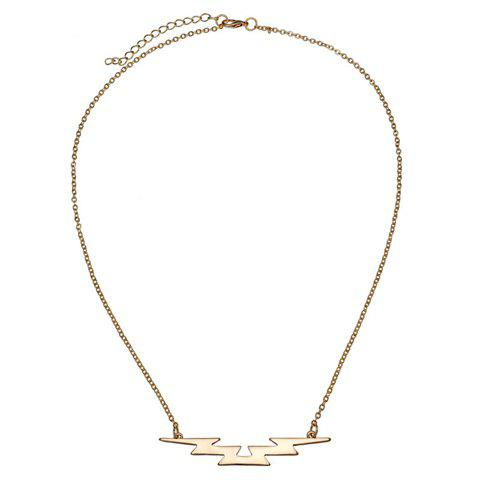 Hot Sale Women's Solid Color Necklace - GOLDEN