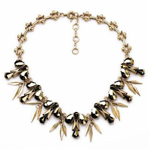 Trendy Women's Solid Color Necklace